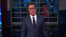 Stephen Colbert Roasts Donald Trump For Tweeting About 'Muderers'