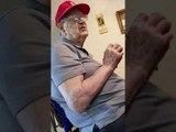 Ninety Nine Year Old Man Laughs at Dirty Joke