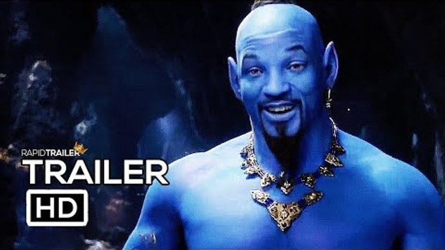 ALADDIN Trailer #2 NEW (2019) Will Smith, Disney Live Action Movie HD