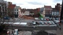 Dernière ligne droite pour la démolition de quatre bâtiments à la Grand-Place de Mouscron