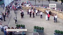 Salsa Flash mob!!