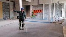 Visite de chantier au futur aquapark de Bellewaerde