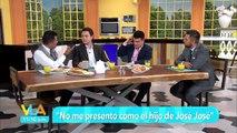 Venga la Alegría  ¿Manuel José se presenta como el hijo de José José?