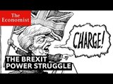 Theresa May's Brexit power struggle, cartooned   The Economist