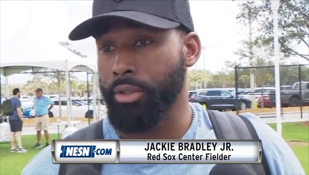 Jackie Bradley Jr., 2018 ALCS MVP, Reports To Red Sox Spring Training