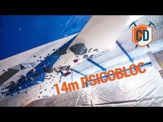 14m Long Psicobloc Climbing Wall | Climbing Daily Ep.1354