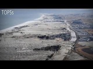 5 Biggest & Most Destructive Tsunami Caught On Camera...