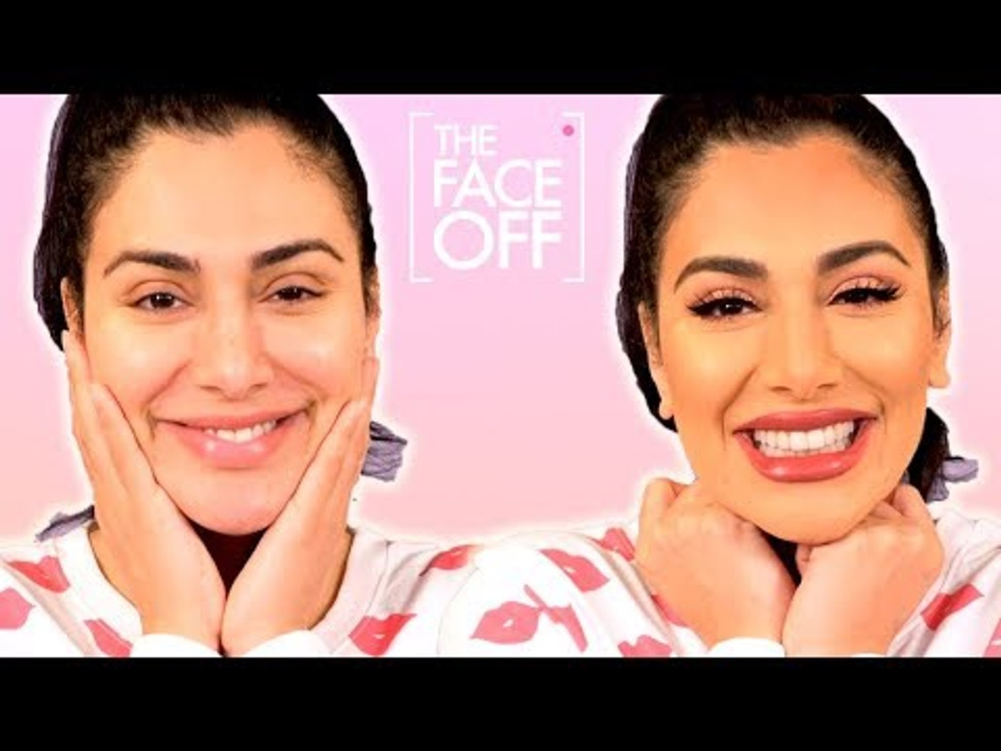 Huda Kattan S Full Makeup Routine Bare Faced To Full Glam The Face Off Cosmopolitan Uk Video Dailymotion