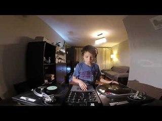 9-Year-Old Filip - House Vinyl DJ Set