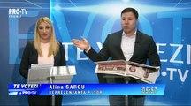 Dezbatere Electorală la ProTV Chişinău, 12 februarie 2019: Sergiu Mocanu (Antimafie), Alina Şargu (Şor), Bogdan Ţîrdea (PSRM)