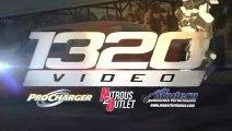 Le pneu de la Mustang de Régis explose à 240 km_h sur un banc duessai.