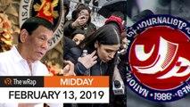 Supreme Court junks quo warranto suit vs Duterte   Midday wRap