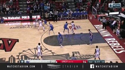 Air Force vs. UNLV Basketball Highlights (2018-19)