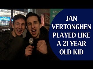 Tottenham 3 Borussia Dortmund 0 | Jan Vertonghen Played Like A 21 Year Old Kid | Fan Cams