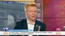 """Adrien Quatennens dénonce """"une campagne électorale déguisée en grand débat national"""""""