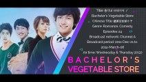 [MV] Adegan ROMANTIS Bikin BAPER Drama Korea BACHELORS VEGETABLE STORE - Kiss Scene Korean Drama