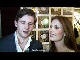 Downton Abbey Series 3 - Allen Leech & Amy Nuttall Interview