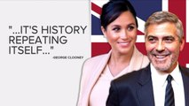George Clooney compares Megan Markle's treatment to Princess Diana