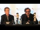 Tim  Burton Interview - Animation & Horror - Frankenweenie Premiere London Film Festival 2012