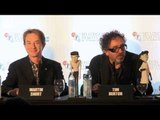 Tim  Burton Interview - Danny Elfman Music - Frankenweenie Premiere London Film festival 2012