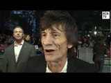 Rolling Stones Ronnie Wood Interview - Crossfire Hurricane World Premiere