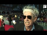 Rolling Stones Keith Richards Interview - Crossfire Hurricane  World Premiere