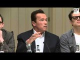 The Last Stand Full Press Conference - Arnold Schwarzenegger Jaimie Alexander Johnny Knoxville