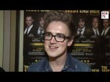 McFly Tom Fletcher Interview - The West End Men Opening Night