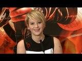 Jennifer Lawrence Interview - Katniss Everdeen - Hunger Games Catching Fire Premiere
