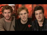 Hunger Games Catching Fire Premiere Interviews