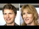 The Fault In Our Stars Premiere Interviews - Ansel Elgort, Nat Wolff & Laura Dern