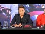 Robert Downey Jr Wardrobe Change Prank - Avengers Age of Ultron Premiere