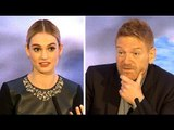 Cinderella Without Songs - Lily James & Kenneth Branagh Interview