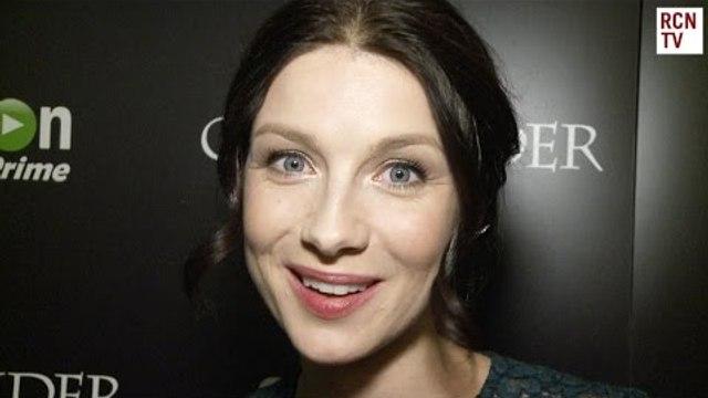 Outlander Caitriona Balfe Interview