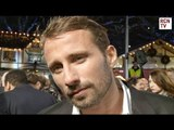 Matthias Schoenaerts Interview The Danish Girl Premiere