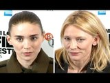 Carol Press Conferene - Cate Blanchett & Rooney Mara
