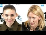 Rooney Mara & Cate Blanchett Interview - Romantic Chemistry
