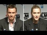 Steve Jobs  Press Conference - Michael Fassbender & Kate Winslet