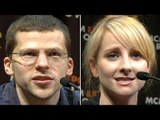 Jesse Eisenberg, Kunal Nayyar & Melissa Rauch MCM Comic Con London Interview