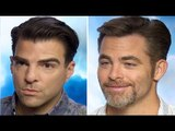 Star Trek Beyond Chris Pine & Zachary Quinto Interview