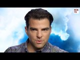 Zachary Quinto Interview - LGBT Sulu & George Takei Reaction