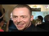 Simon Pegg Interview Terminal & Ready Player One