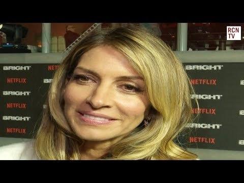 Dawn Olivieri Interview Bright Premiere