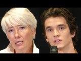 Emma Thompson & Fionn Whitehead Interview The Children Act Premiere
