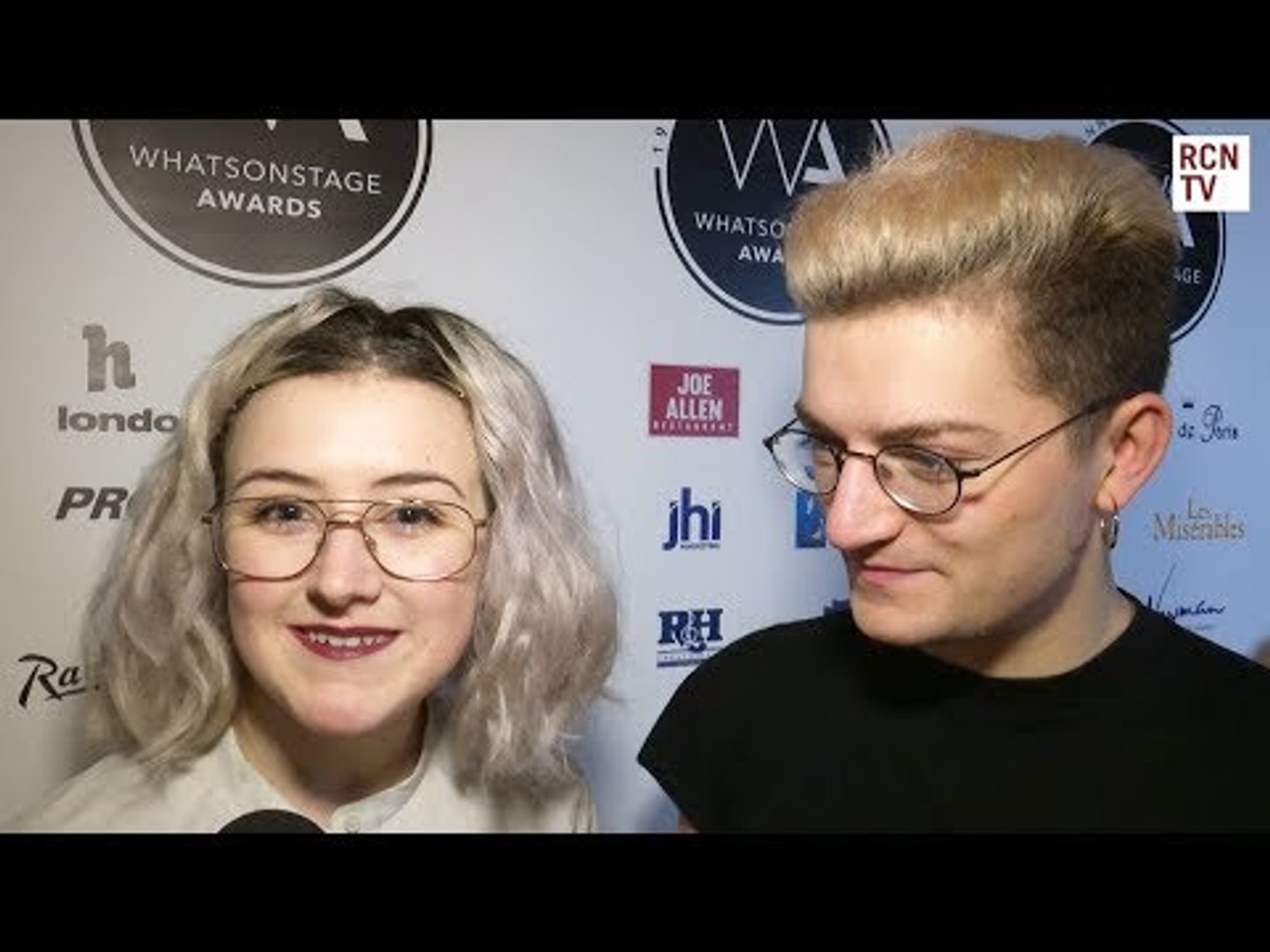Six Interview What's On Stage Awards 2019