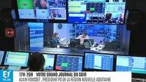 """Alain Juppé quitte la mairie de Bordeaux : """"ému"""", le socialiste Alain Rousset salue """"un homme d'Etat"""""""