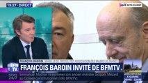 """François Baroin (LR) félicite Alain Juppé pour sa nomination au Conseil constitutionnel: """"C'est un excellent choix"""""""