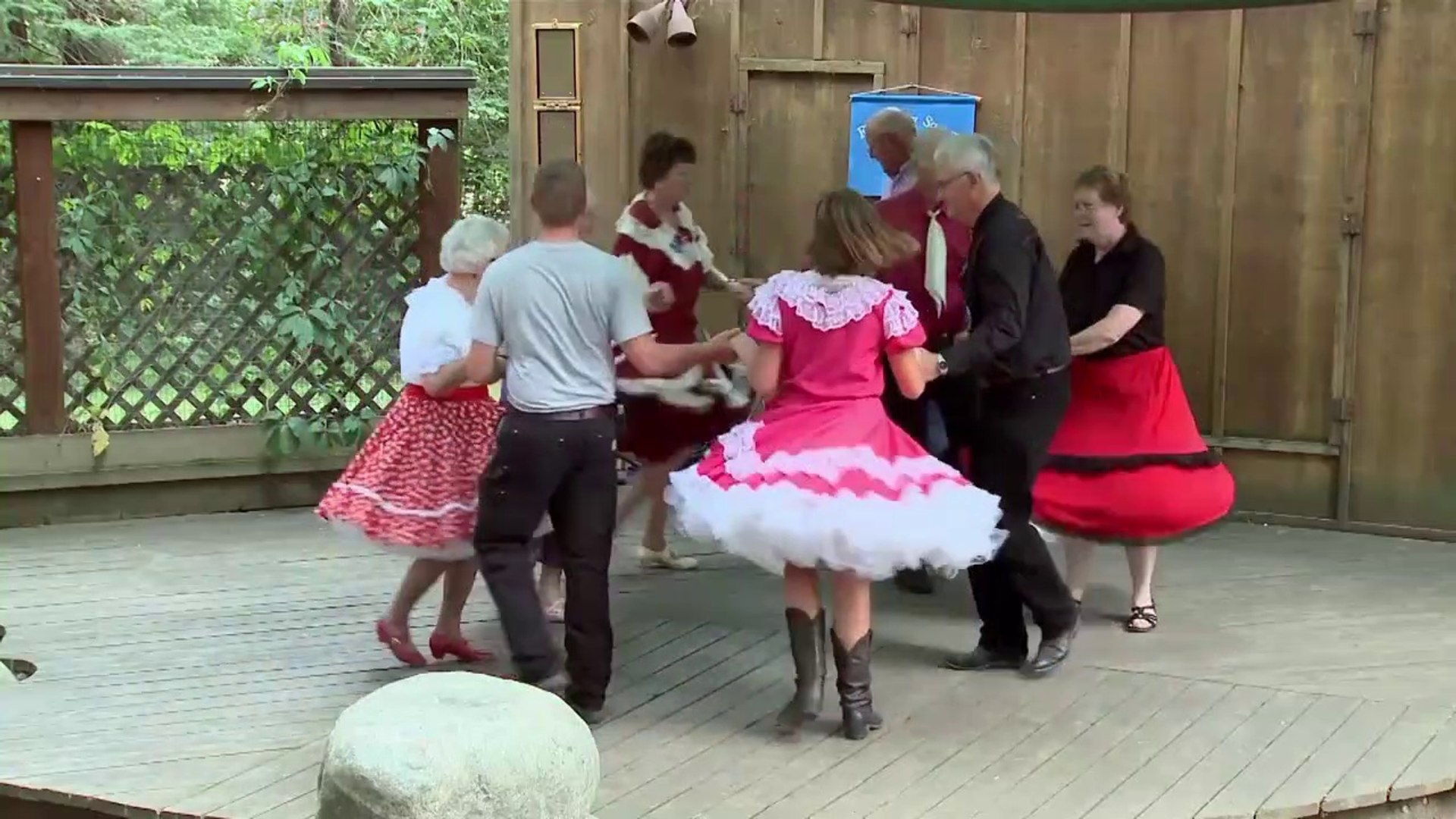 Square dance world beautiful dance