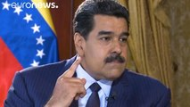 US trying to impose 'puppet government' in Venezuela, Maduro tells Euronews