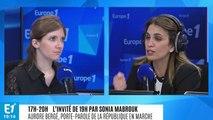 """Aurore Bergé (LREM) sur la Ligue du LOL : """"On a été trop nombreux à ne pas en percevoir les dangers"""""""